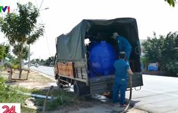 Hàng nghìn hộ dân Cần Giuộc (Long An) thiếu nước sinh hoạt trầm trọng