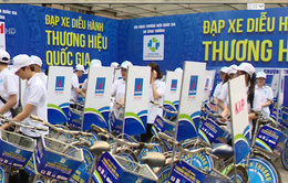 Đạp xe diễu hành hưởng ứng Tuần lễ Thương hiệu quốc gia 2019