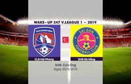 VIDEO Highlights Than Quảng Ninh 3-0 CLB Sài Gòn (Vòng 6 Wake-up 247 V.League 1-2019)