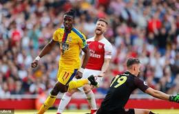 Thua cay đắng Palace, Arsenal lỡ cơ hội vươn lên hạng 3 Ngoại hạng Anh