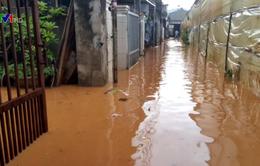 Mưa lớn gây ngập nặng tại Đà Lạt