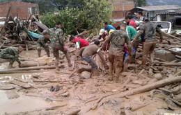 Lở đất nghiêm trọng tại Colombia, ít nhất 17 người thiệt mạng