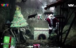 Bay và bơi cùng ông già Noel