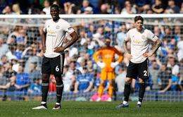"""Phòng thay đồ Man Utd """"đại loạn"""" vì thất bại tủi hổ trước Everton"""