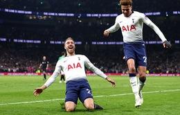 Kết quả đá bù Ngoại hạng Anh: Tottenham thắng tối thiểu Brighton
