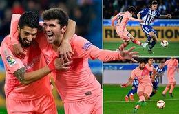 Kết quả, BXH vòng 34 giải VĐQG Tây Ban Nha, La Liga: Barcelona độc chiếm ngôi đầu