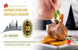 Đang diễn ra triển lãm về công nghiệp thực phẩm, khách sạn
