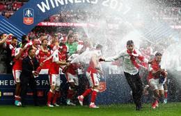 Liên đoàn bóng đá Anh đề xuất thay đổi nghi lễ trao cúp FA