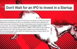 Làn sóng IPO của các startup công nghệ tại Mỹ