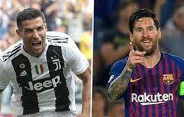 """5 giải hàng đầu châu Âu: Messi và Ronaldo lại """"hội ngộ"""""""