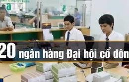 20 ngân hàng tổ chức Đại hội cổ đông trong tuần cuối tháng 4