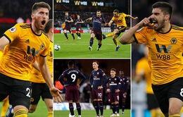 VIDEO Wolves 3-1 Arsenal: Top 4 xa dần