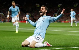 ẢNH: Toàn cảnh chiến thắng thuyết phục của Man City trước Man Utd