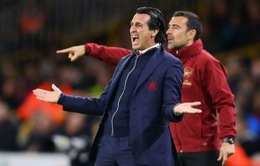 HLV Unai Emery vẫn lạc quan về cơ hội top 4 của Arsenal