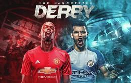 CHÍNH THỨC: Đội hình ra sân trận derby Manchester