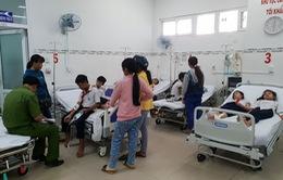 Hàng chục học sinh nhập viện sau khi uống sửa tại trưởng ở Ninh Thuận