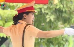 Hà Nội: Duy trì 24 chốt nữ Cảnh sát giao thông dịp nghỉ lễ