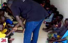 Giải cứu 157 trẻ em khỏi đường dây buôn bán người ở châu Phi