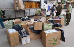 Quảng Bình: Phát hiện 18.600 bao thuốc lá điếu do nước ngoài sản xuất nhập lậu
