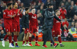 Giành chiến thắng 5 sao, Liverpool tạm vươn lên dẫn đầu BXH Ngoại hạng Anh