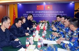 Kết thúc kiểm tra liên hợp nghề cá Việt Nam - Trung Quốc