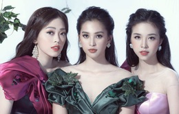 """Top 3 Hoa hậu Việt Nam 2018 hóa thành """"nữ thần nho"""" trong bộ ảnh mới"""