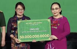 Quỹ Tấm Lòng Việt nhận 50 tỷ đồng tài trợ cho chương trình Trái tim cho em