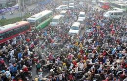 TP. HCM: Ùn ứ, kẹt xe tuyến cửa ngõ ra khỏi thành phố trong ngày đầu nghỉ Lễ 30/4-1/5