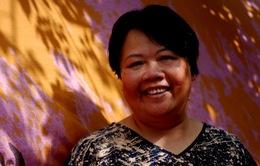 Nữ họa sĩ Thu Trần: Tôi vừa vẽ, vừa hát là chuyện thường xuyên