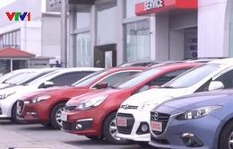 Lượng ô tô nhập khẩu tăng mạnh