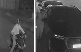 Trong đêm, 3 xe sang Audi, Lexus và Mercedes bị vặt trụi gương