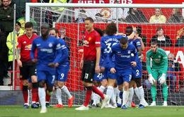 De Gea lại sai lầm, Man Utd đánh rơi chiến thắng trước Chelsea ở Old Trafford