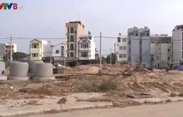 Bãi đúc cấu kiện bê tông gây ô nhiễm tại TP Đà Nẵng