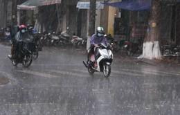 Mưa giải nhiệt xuất hiện ở Đồng bằng sông Cửu Long