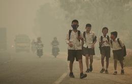 Ô nhiễm không khí làm giảm gần 2 năm tuổi thọ của trẻ em