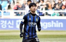 Incheon United thua đậm trong lần đầu Công Phượng đá chính tại K.League