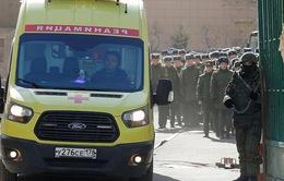 Nổ tại học viện quân sự Nga, ít nhất 4 người bị thương