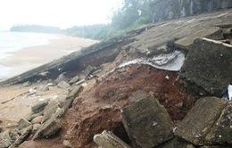 Sửa chữa khẩn cấp kè biển bảo vệ di tích đặc biệt Địa đạo Vịnh Mốc
