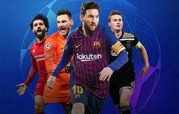 Lịch thi đấu bán kết Champions League: Tottenham - Ajax, Barcelona - Liverpool