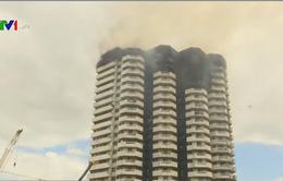 Cháy chung cư 21 tầng tại Manila, Philippines
