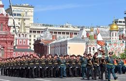 Quân đội Nga tổng duyệt lễ diễu binh ngày 9/5
