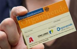 Đức đề xuất sáng kiến giúp tăng tỷ lệ hiến tạng