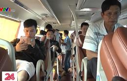 Hành khách không mặn mà với thắt dây an toàn trên xe ô tô