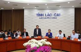 Tiểu Ban Văn kiện Đại hội XIII làm việc tại Lào Cai