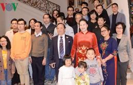 Chủ tịch Quốc hội gặp mặt cộng đồng người Việt Nam tại Bỉ