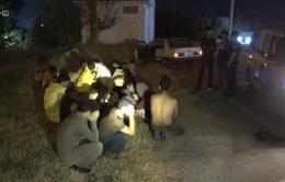 Thổ Nhĩ Kỳ bắt giữ hàng trăm người di cư trái phép