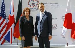 Bộ trưởng Bộ Nội vụ G7 bàn về an ninh