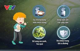 Mẹo hay để bảo vệ sức khỏe khi giao mùa