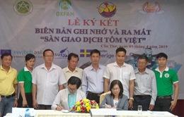 Thành lập Sàn giao dịch tôm Việt Nam