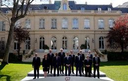 Bộ trưởng Bộ Nội vụ G7 thông qua cam kết Paris